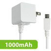 Cellet - White Micro USB Home Charger for Smart Phones - White