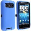 eForCity - Hybrid Case for HTC Inspire 4G / Desire HD / Ace - Black, Blue