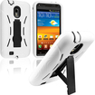 eForCity - Hybrid Case with Stand for Samsung Epic 4G Touch D710 - Black, White - Black, White