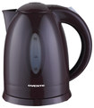 Ovente - 1.7L Cordless Electric Kettle - Brown