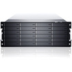 Sans Digital - EN424L+BXE 4U 24 Bay Intel Xeon Quad-Core HW RAID 60 NAS + iSCSI Server with Exp