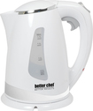 Better Chef - 7-Cup Electric Kettle - White