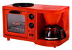 Americana by Elite - 3-in-1 Multifunction Breakfast Center - Red