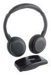 Able Planet - Personal Sound Wireless On-Ear Headphones - Black