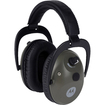 Motorola - Talkabout Electronic Earmuff With PTT Microphone Cable - Hunter Green