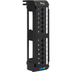 ICC - ICMPP12V5E 12 Port Vertical CAT 5e Patch Panel Office - Black Deal