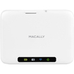 Macally - WIFISD Mobile Wi-Fi Sd Pocket Drive For Smart Phone Tablet Mac PC