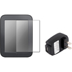 eForCity - Matte Film + 2A USB AC Wall Charger Adapter for B&N Nook 2 Simple Touch Simple Touch w/ GlowLight