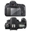 eForCity - Reusable Screen Protector for Canon EOS 60D - Clear - Clear