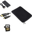eForCity - Accessories Set for Nokia Lumia 2520 - Sleeve + Windshield Holder + Mini Keyboard + Bag + HDMI Cable