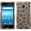 BasAcc - Leopard Skin Camel Diamond Case Cover for Sony Ericsson LT28AT Xperia Ion - Leopard/Camel Skin Diamante