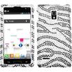 BasAcc - Zebra Skin Diamante Case Cover for LG P769 Optimus L9 - Black Zebra Diamante - Black Zebra Diamante