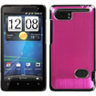 Insten - Cosmo Back Case Cover (Warp speed) for HTC Vivid - Hot Pink Cosmo
