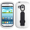 BasAcc - Symbiosis Stand Case Cover for Samsung i8190 Galaxy S III mini - Black/White Symbiosis