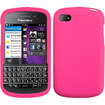 BasAcc - Solid Skin Case Cover for Blackberry Q10 - Solid Hot Pink - Solid Hot Pink