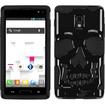 BasAcc - Skullcap Hybrid Case Cover for LG P769 Optimus L9 - Black Skullcap - Black Skullcap