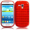 BasAcc - TPU Rubber Gel Skin Case Cover for Samsung Galaxy® S3 SIII Mini i8190 - Red - Red