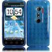 Insten - TPU Case Cover for HTC Evo 3D/HTC Evo V 4G - Blue
