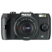 Pentax - 12.4 Megapixel Mirrorless Camera (Body with Lens Kit) - 5 mm-15 mm Lens - Black
