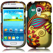 Insten - Case Cover for Samsung Galaxy S3 Mini/i8190 - Antique Flower