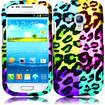 Insten - Case Cover for Samsung Galaxy S3 Mini/i8190 - Colorful Leopard