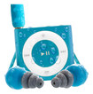 Waterfi - Apple® iPod® shuffle 4th Generation MP3 Player - Blue