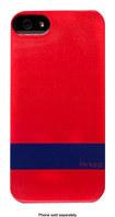 Mrked - Hybrid Case for Apple® iPhone® 5 - Brick Red/Dark Blue