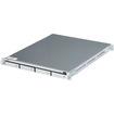 Sans Digital - EN104L+ 1U 4Bay Intel Atom NAS+iSCSI Rackmount Server - Silver