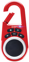 Ion Audio - Clipster Wireless Speaker - Red