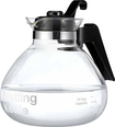 One All - 12-Cup Stovetop Whistling Tea Kettle - Clear