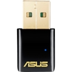 Asus - IEEE 802.11ac - Wi-Fi Adapter for Desktop Computer/Notebook - Black