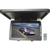 "Performance Teknique - 15"" Automobile Digital TFT Ceiling Mount Monitor Flip-Down and Swivel - Black - Black"