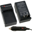 eForCity - Compact Battery Charger Set For Panasonic DMW-BCF10/DMW-BCF10E