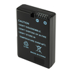eForCity - 1,350mAh / 9.9WH Nikon EN-EL14 Li-Ion Replacement Battery [Decoded] Compatible with Nikon CoolPix / Nikon D Series - Black