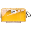 Pelican - 1060 027 100 1060 Micro Case with Lid - Yellow