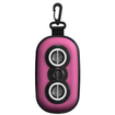 iLuv - Isp110Pnk iPhone® /iPod® Portable Amplified Stereo Speaker Case - Pink