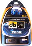 DB Link - Ck4Z 4-Gauge Competition Series Amplifier Installation Kit