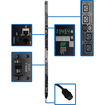 Tripp Lite - Switched Rackmount PDU with Pre-Installed Mounting Buttons