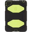 Griffin Technology - Black/Citron Survivor All-Terrain Case for iPad mini - Yellow