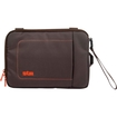 """STM Bags - Carrying Case (Sleeve) for 7"""" Tablet PC, - Chocolate, Orange"""