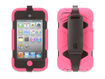Griffin Technology - Pink/Black Survivor All-Terrain Case for iPod touch 4th Gen. - Pink