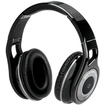 Scosche - Bluetooth Stereo Headphones with Controls - Chrome, Glossy Black, Silver