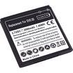 eForCity - Li ion Standard Battery for HTC EVO 3D - Black - Black