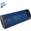Accessory Power - BlueSYNC BR2 Portable Wireless Bluetooth 2.1 Stereo Speaker with Rechargeable Battery for Tablets - Blue