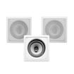 "Acoustic Audio - Acoustic Audio CS-I82S In Wall / Ceiling 8"" Home 3 Speaker Set 900W CS-I82S-3S - White"