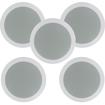 Theater Solutions - 75 W Speaker - Pack of 10 - Black, White