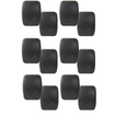 Theater Solutions - Theater Solutions Indoor Outdoor Waterproof Black Speakers 6 Pair Pack 6TS525ODB - Black
