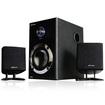 Acoustic Audio - Acoustic Audio AA3009 200 Watt 2.1 Powered Speaker System with Bluetooth AA3009B - Black