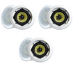 MA Audio - MA Audio Synergy Series 52iC In Ceiling Speakers 840 Watts 3 Pair Pack 52iC-3Pr - White