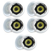 MA Audio - MA Audio Synergy Series 52iC In Ceiling Speakers 1400 Watts 5 Pair Pack 52iC-5Pr - White